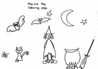 Meg and Mog worksheet