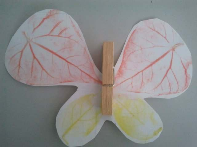 Crafts for kids - Autumn butterfly | Misstesl