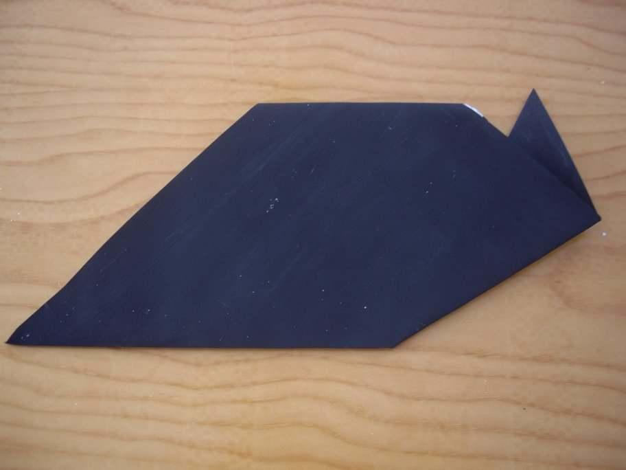 Halloween origami cat5-activities for kids