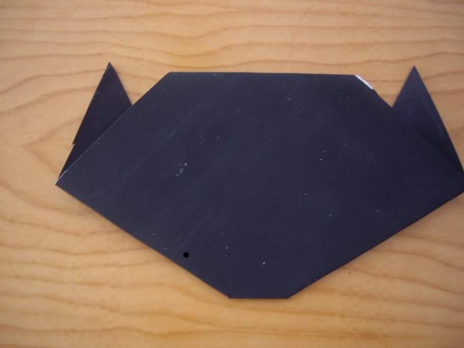 Halloween origami cat6-activities for kids