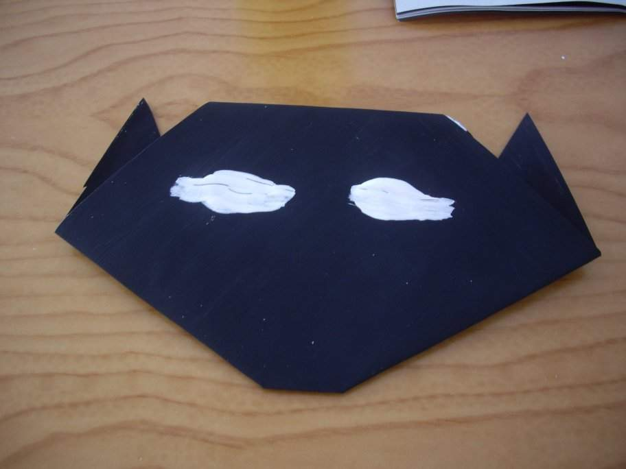 Halloween origami cat7-activities for kids