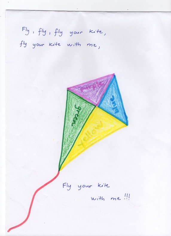 Crafts for kids - Kite | Misstesl
