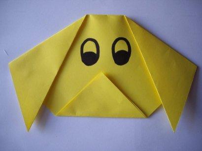 Origami dog7