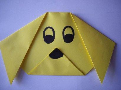 Origami dog8