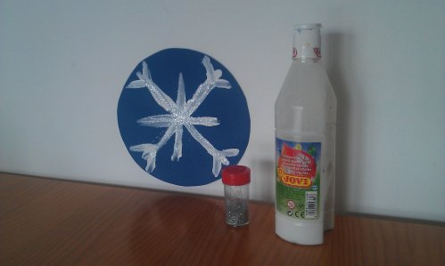 Crafts for kids - Snowflake | Misstesl