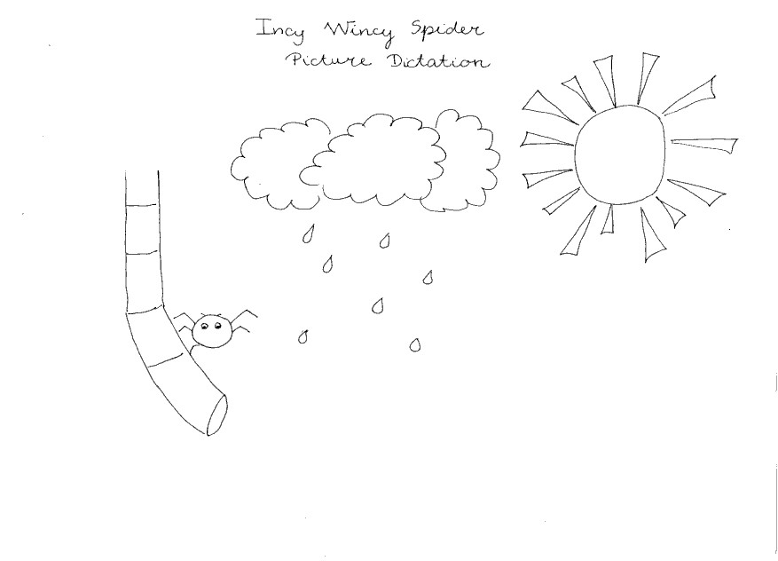 Incy Wincy Spider Colouring Worksheets Miss T Esl